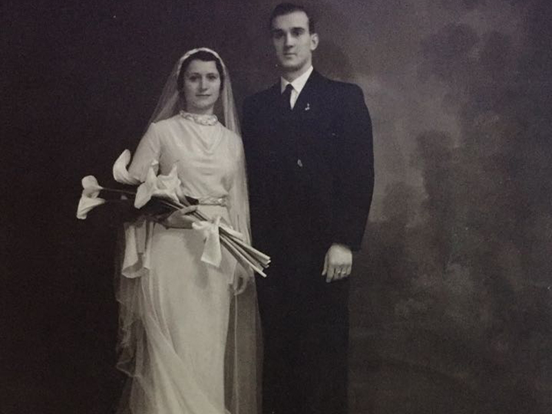 La historia del vestido de novia