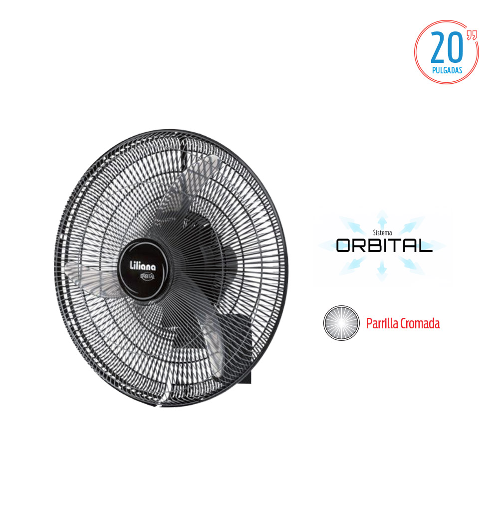 VENTILADOR DE PARED LILIANA VWOC 20''